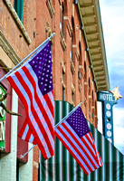 American Flag -Downtown - #002